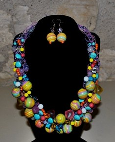Bette Robinson Necklace and Earrings Item39 148 web