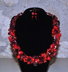 Bette Robinson Necklace and Earrings Item40 148 web