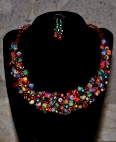 Bette Robinson Necklace and Earrings Item43 162 web