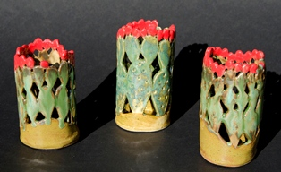 Cactus candle votives