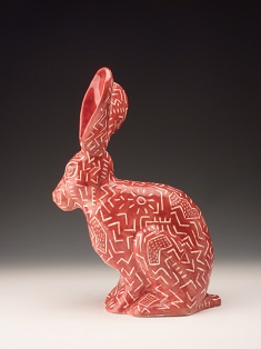 Cindy DeBold Texas Jack Rabbit red web