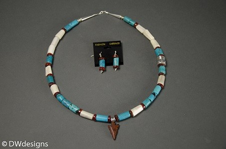 David Warren Necklace custom with earrings 1