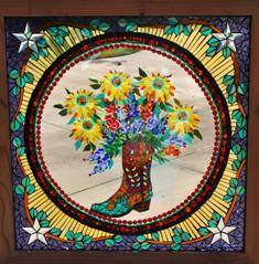 Kathy Dalrymple Boot Bouquet in the round web