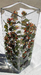 Kathy Dalrymple Large Sunflower Vase web