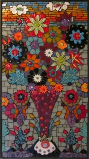 Patricia Karr sunset bouquet 22x12 325 web