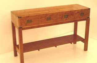 Randy Secrest entry table 30Hx48Wx15D 4000