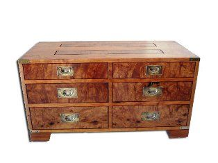 Randy Secrest mesq burl chest web