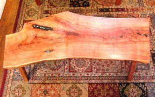 Ric Smith Mesquite Table Bench 46 17 18 550 web