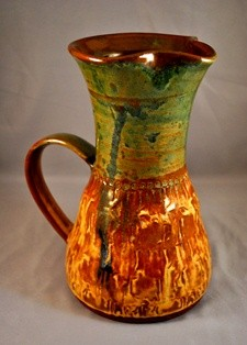 Sheri Jo Adams Textured Pitcher Web