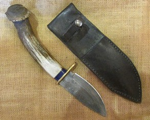 Tex Irvin Knife Axis Left Hand 160 web